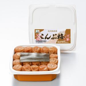 和歌山県産の梅干しを産地直送。昆布梅は和歌山県認証商品です。高品質でやわらかい紀州産の完熟した南高梅...
