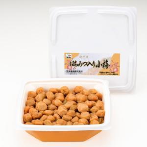 梅干し 和歌山 紀州産 はちみつ入り小梅700gプラ容器 塩分8% kawamotokk