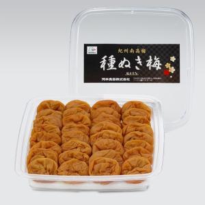 梅干し 和歌山 紀州南高梅 種ぬき梅400gペット容器 塩分6%|kawamotokk