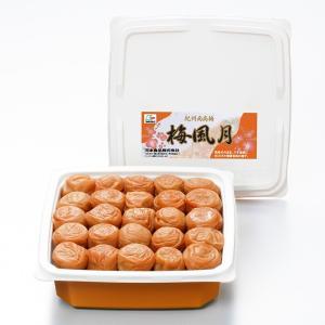 お歳暮 梅干し 贈答 ギフト 和歌山 紀州南高梅 梅風月800gプラ容器 塩分6%|kawamotokk