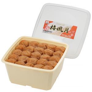 梅干し 和歌山 紀州南高梅 梅風月1.3kg角樽 塩分6%|kawamotokk