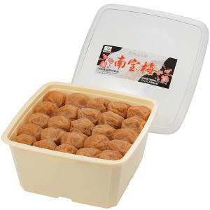 梅干し 和歌山 紀州南高梅 南宝梅1.3kg角樽 塩分9%