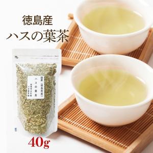 ハスの葉茶 40g お試し 国産健康茶 徳島県産 ノンカフェイン カフェインレス