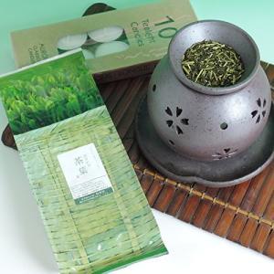 敬老の日 [再入荷]茶香炉 茶葉 セット プレゼント ギフトにもおすすめ お返し gift 盛正作|kawamotoya
