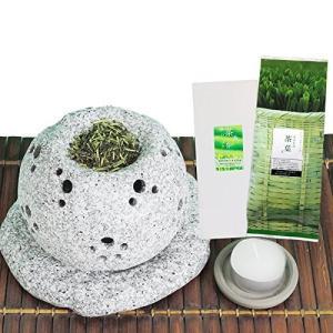 ギフト 茶香炉 セット  茶香炉&ローソク&茶香炉専用茶葉 元祖 gift|kawamotoya