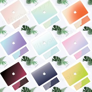 MacBookノートパソコンカバー マックブック キーボード保護シート付き パソコンケース 傷防止 ...