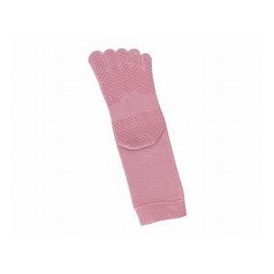 すべり止め付5本指靴下 婦人用(ピンク、ベージュ) kawamurafukushi