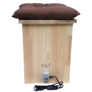 お尻から温める椅子|kawane
