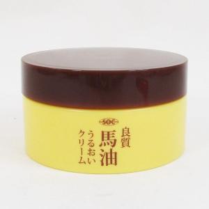 馬油うるおいスキンクリーム 80g 日本製 渋谷油脂 SOC|kawanetjigyoubu