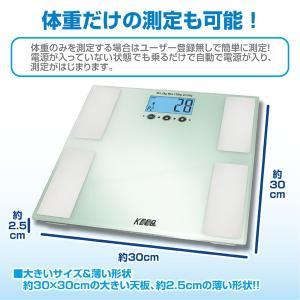 /体重体組成計 ヘルススキャン / 体脂肪 体重測定...