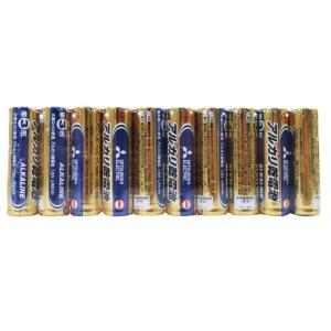 三菱 アルカリ電池 1パック10本組 数量はタイトル参照  ◆デジタル家電に強い!アルカリ電池 どう...