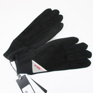 リプレイ メンズ グローブ 手袋 豚革 レザー AM6018-002-A3066B サイズ:L ブラック/送料無料 kawanetjigyoubu