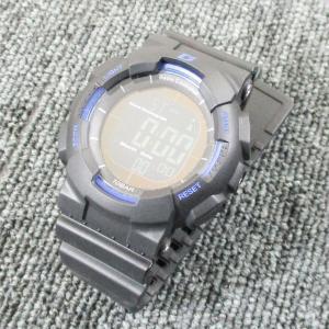 ALIAS 電波ソーラー デジタル 腕時計 DASH 反転液晶 10気圧防水 ウレタンベルト  ADWW15039RCSOL-1ブルー kawanetjigyoubu