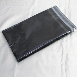 宅配袋 宅配ビニール袋 ブラックB0 150×230mm フタ40mm 厚さ0.06mm 100枚/送料無料メール便 ポイント消化|kawanetjigyoubu