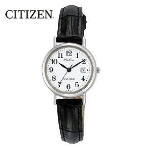 シチズン 日本製ムーブメント カレンダー付 レディース腕時計 D023-304 kawanetjigyoubu