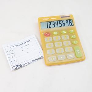 シチズンCBM/大型表示2パワー電卓HDM86 計算機|kawanetjigyoubu