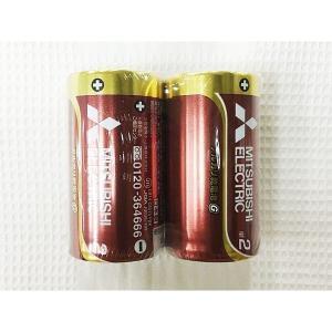 単2アルカリ乾電池 単二乾電池 三菱 2本組x1パック|kawanetjigyoubu