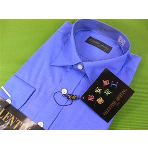 VALENTINO BERTINI Yシャツ形態安定加工綿45%|kawanetjigyoubu