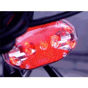 終了しました。目玉1円 9LED自転車用リアライト点灯7パターン/事故急増です kawanetjigyoubu