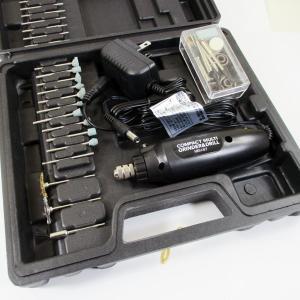 軽量・小型で使いやすい! 60Pのビットとパーツで様々な用途にマルチに使えて便利  高速12,000...