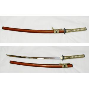 日本製美術刀剣/模造刀/日本刀/金茶 大刀 kawanetjigyoubu