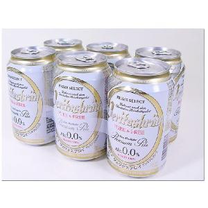 ●本物がわかる方のためのノンアルコールビールテイスト飲料  原材料は、プレミアムモルトとファインホッ...
