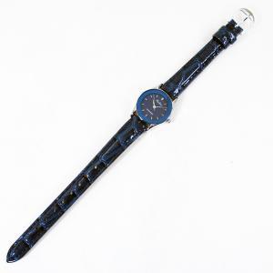 シチズン ファルコン 腕時計 日本製ムーブメント 革ベルト ネイビー/紺 QA37-302 レディース 婦人 kawanetjigyoubu
