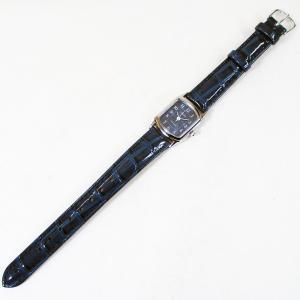 シチズン ファルコン 腕時計 日本製ムーブメント 革ベルト ネイビー/紺 QA69-305 レディース 婦人 kawanetjigyoubu