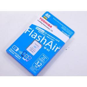 東芝 無線LAN搭載 Flash Air Wi-Fi SDHCカード 32GB Class10  SD-R032GR7AL03*カワネット