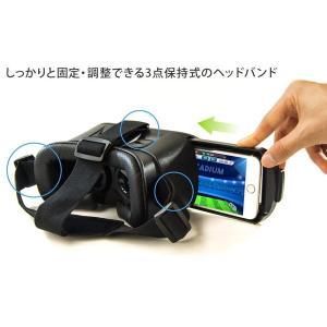 グリーンハウス スマートフォン用VR ヘッドセット GH-VRHA-BK/送料無料 kawanetjigyoubu