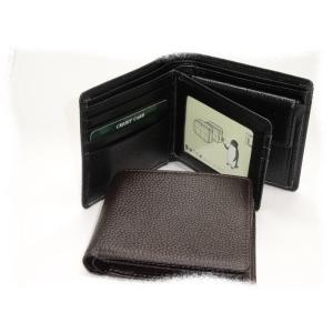 188 二つ折り財布 中ベラ パス窓付 牛革 カード7枚 小銭入れ付|kawasyo-yanaka