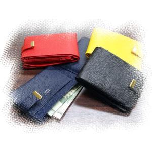 461 コインケース  日本製 牛革製 小銭入れ 財布 メンズ レディース コンパクト 二つ折り |kawasyo-yanaka