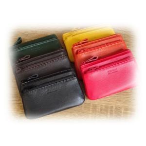 464 コインケース 日本製 牛革製 小銭入れ 財布 レディース メンズ コンパクト ミニ メンズ レディース|kawasyo-yanaka
