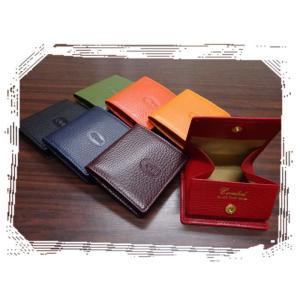 473 コインケース 牛革製小銭入 財布 ボックス型 レディース メンズ オープン |kawasyo-yanaka