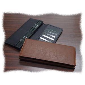 7130 ソフト牛革 長財布 カード15枚 ファスナー無し|kawasyo-yanaka
