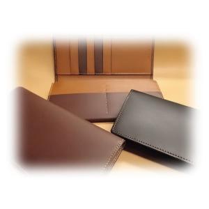 7630 長財布 日本製 ファスナー付 マチ付 牛革ポップ 革匠 メンズ|kawasyo-yanaka