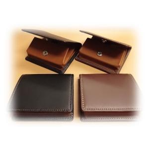 7650  コインケース 日本製 小銭入(ボックス型) 牛革ポップ 革匠 メンズ|kawasyo-yanaka