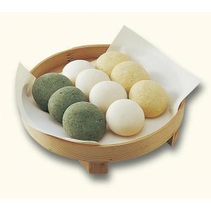丸餅 よもぎ1袋(5個入)|kawatamochi