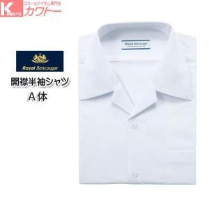 RB211 A体 男子 半袖 ワイシャツ カッターシャツ 学生用シャツ 形態安定 抗菌防臭加工 kawatoh