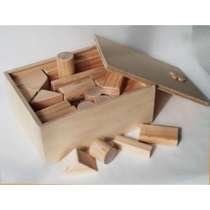 積木 52P 手作り 木のおもちゃ 積み木 知育玩具 木製 |kawatora