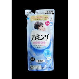 柔軟剤 ハミング フローラルブーケの香り つめかえ 540ml|kawauchi