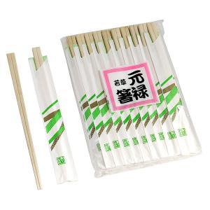 割り箸(箸袋付) 元禄箸 白樺製 50膳入...