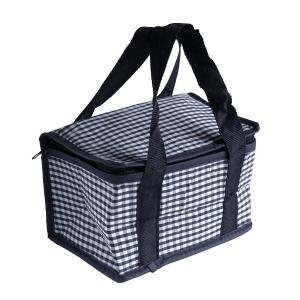 ○ボックスタイプの保冷バッグです。  サイズは、約幅20×高さ12×奥行き13cmです。  350m...