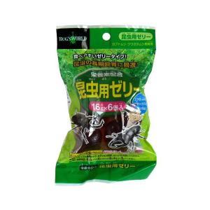昆虫ゼリー 16g 6個入|kawauchi