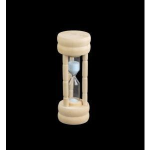 砂時計 約3分計 高さ10.3cm [色指定不可]