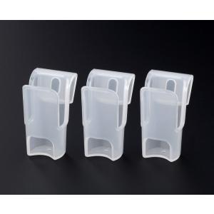 ○チューブタイプの薬味を1本ずつ収納できる薬味チューブホルダーです。  冷蔵庫のドアポケットの内側と...
