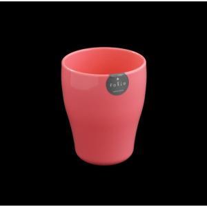 コップ(タンブラー) プラスチック製 340ml ピンク フォリオ kawauchi
