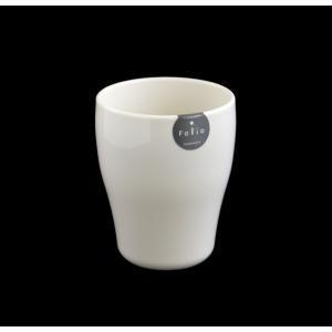 コップ(タンブラー) プラスチック製 340ml ホワイト フォリオ|kawauchi
