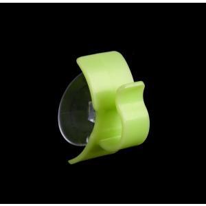 洗面フック 吸盤タイプ 縦横対応 グリーン