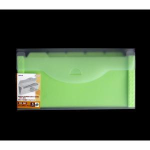 ○書類の分類・整理に便利な収納ファイルです。  6ポケットです。  外寸サイズは、約14×27.5×...